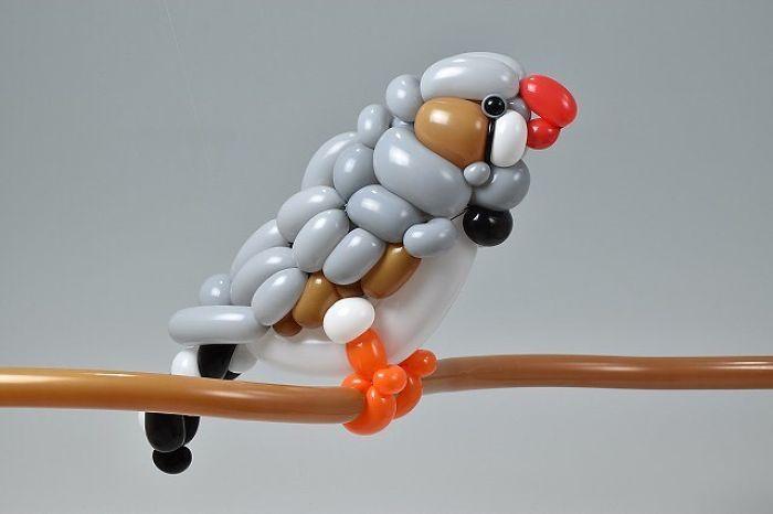 Скульптуры из воздушных шаров Masayoshi Matsumoto