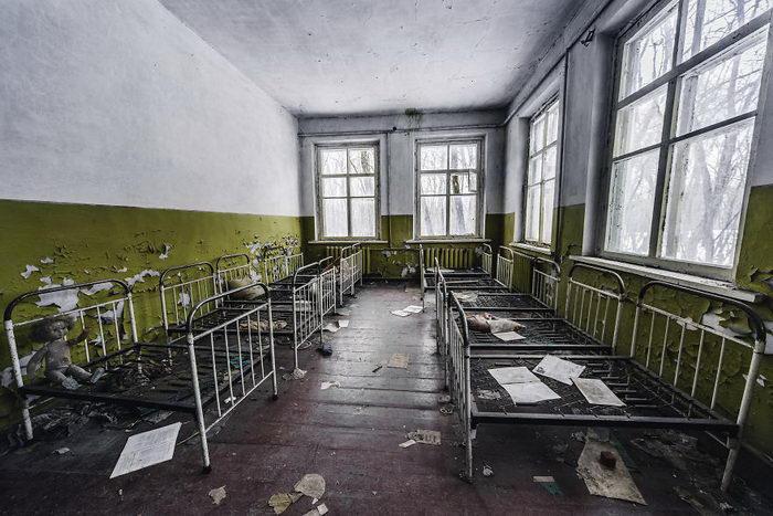 Чернобыль в фотографиях Ana Dumitru