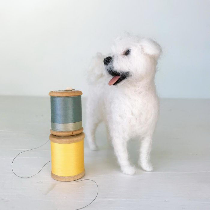 Реалистичные фигурки собак Meagan Alessio