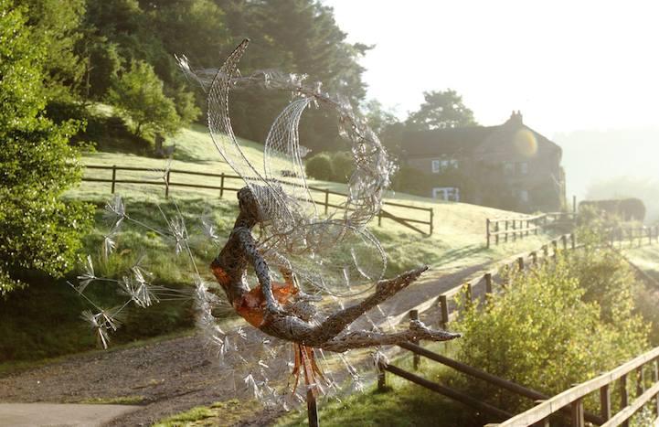 Стальные скульптуры Robin Wight