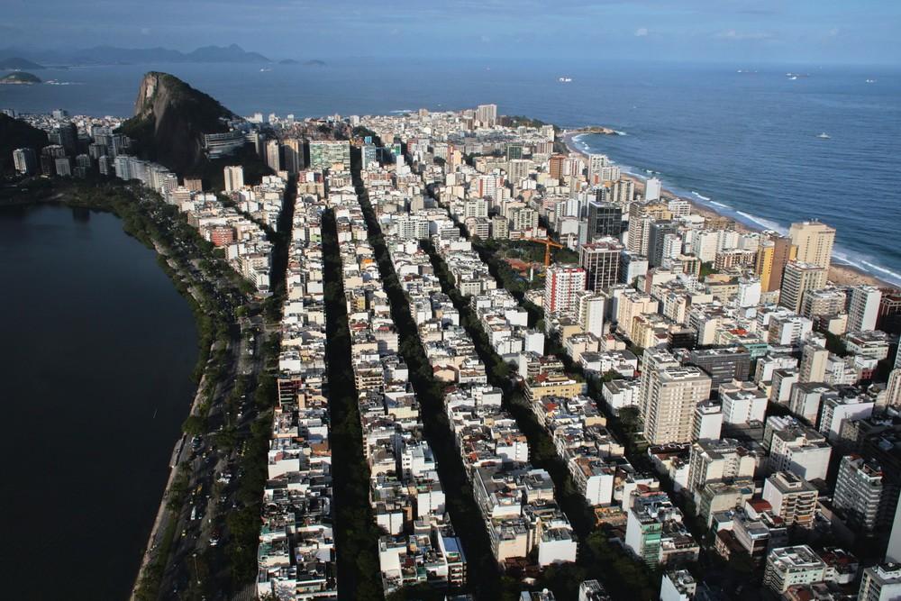 На вертолете над Рио-де-Жанейро