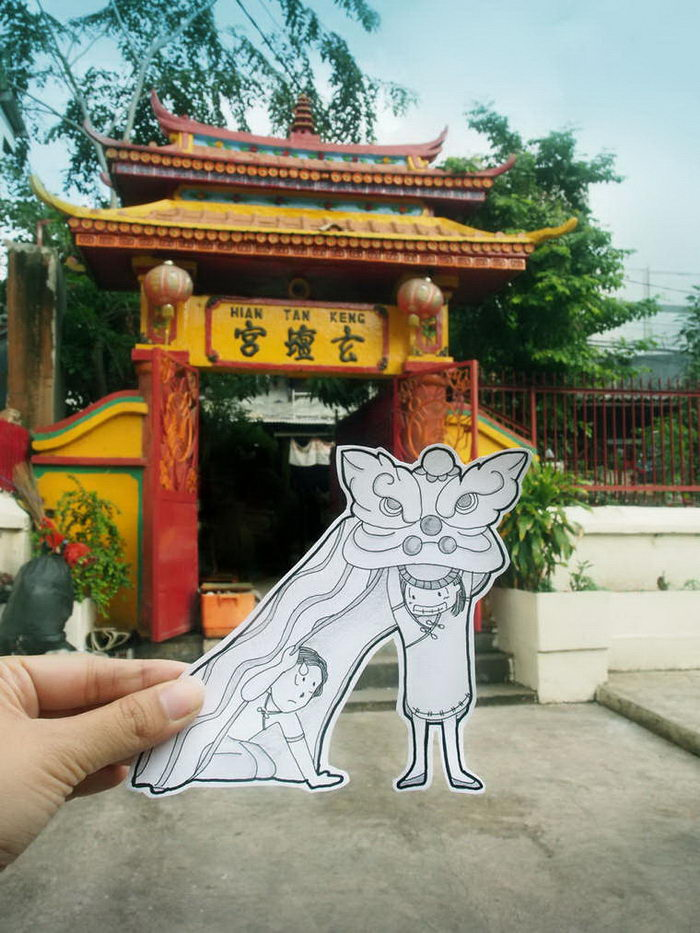 Путешествия без селфи: проект Doodle Deux
