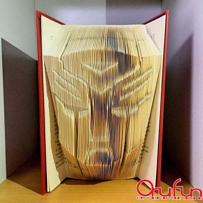 Книжные творения Yuto Yamaguchi