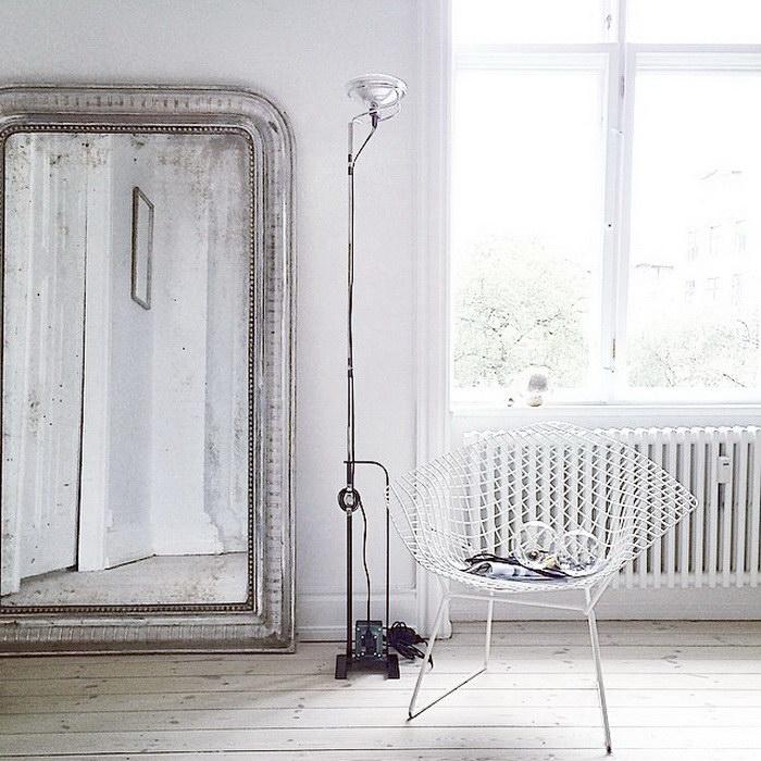 Серые интерьеры датского дома
