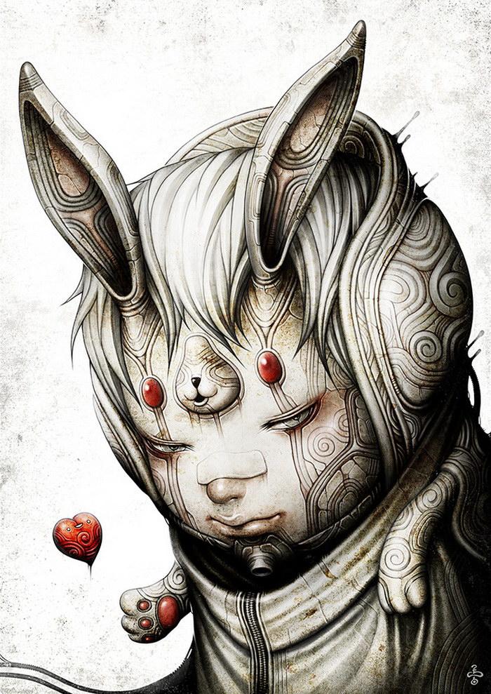 Иллюстрации Shingo Matsunuma