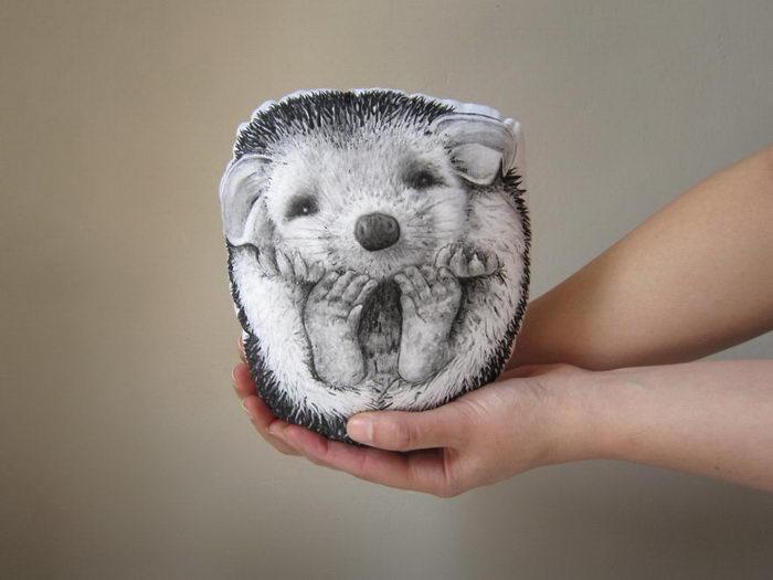 Подушки в виде животных: магазинчик MosMea