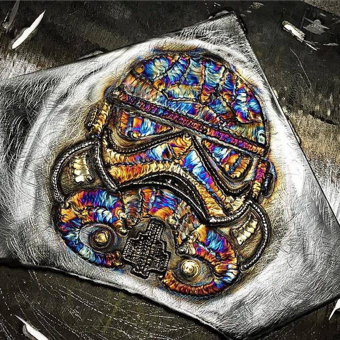Сварочные творения Richard Lauth