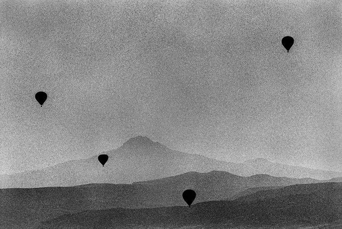 Черно-белые кадры Renato D'Agostin