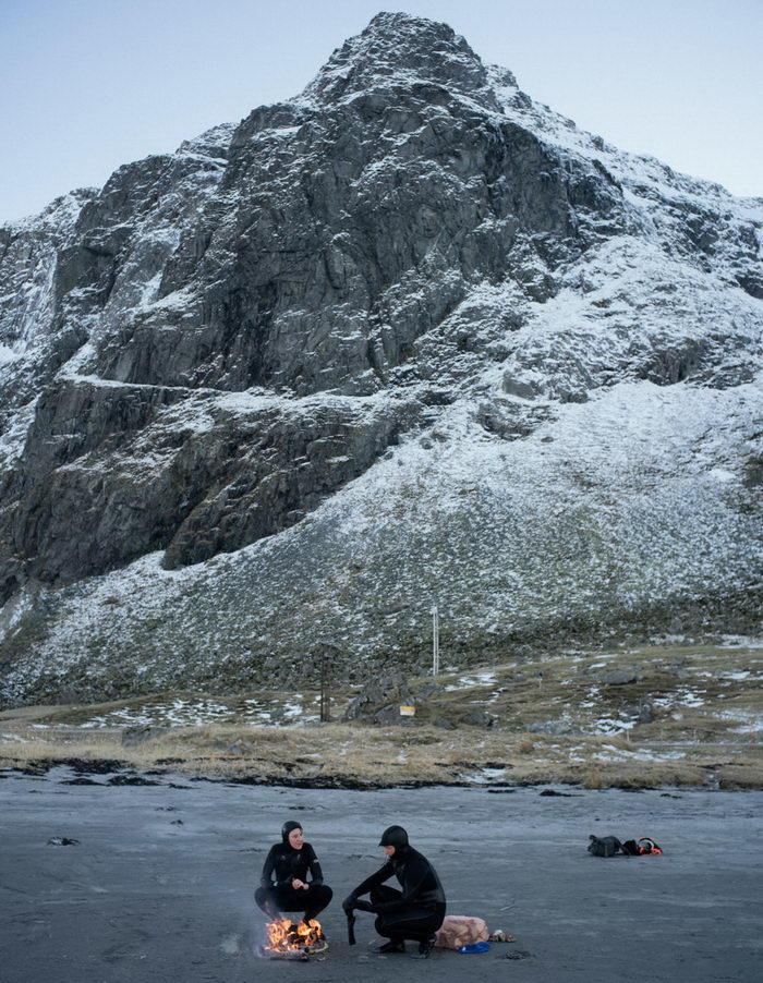 Серфинг за полярным кругом: фото Tim Franco