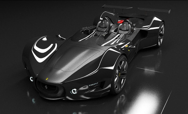 Концепт-кар Ferrari Celeritas от Aldo Schurmann