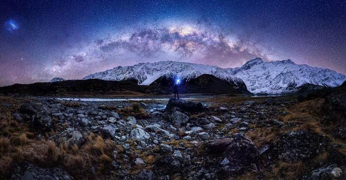 Звездное небо Новой Зеландии в снимках Jake Scott-Gardner
