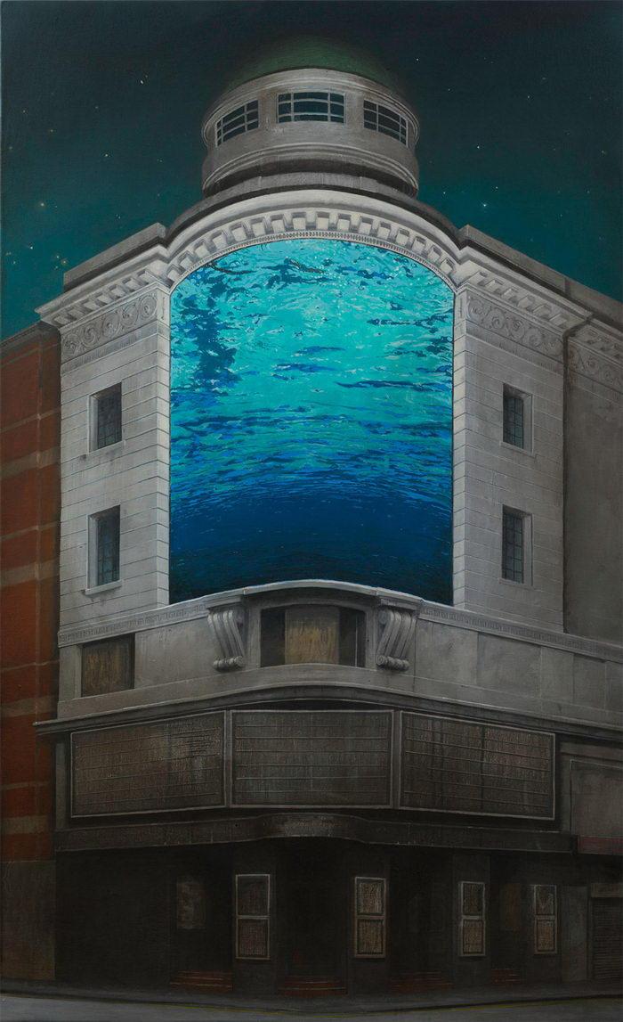 Замки, дома на колесах и мосты в картинах Andrew McIntosh