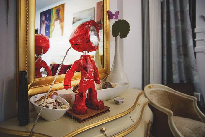 Лампы из старых фар: дизайн Andrei Chivote