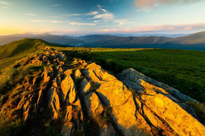 Польские горы в фотографиях Miko?aj Gospodarek