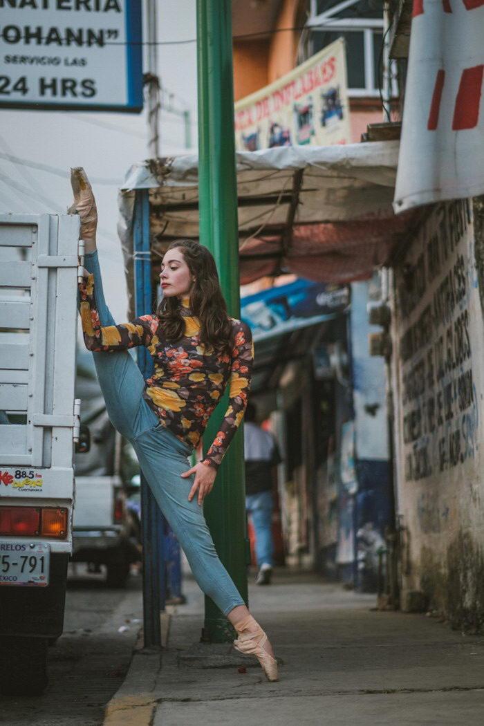Танцоры в Мехико: фотографии Omar Robles