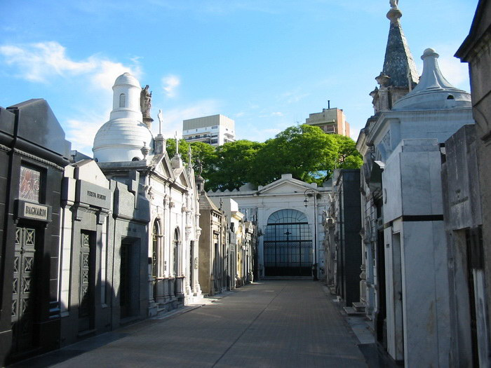 Самое красивое кладбище в мире: Реколета