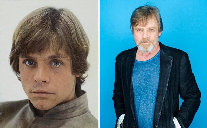 Актеры «Звездных войн» тогда и сейчас