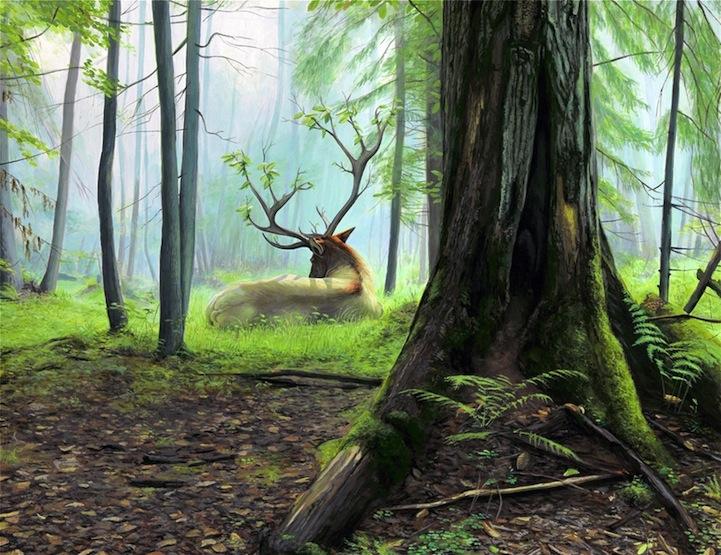 Картины животных Josh Keyes