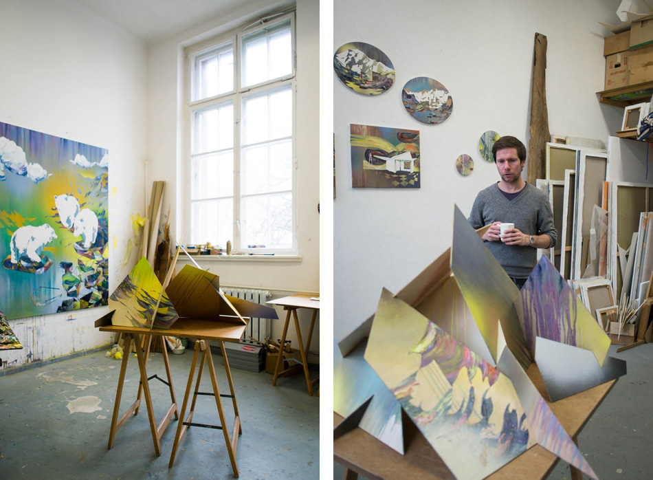 Картины Matthias Moravek