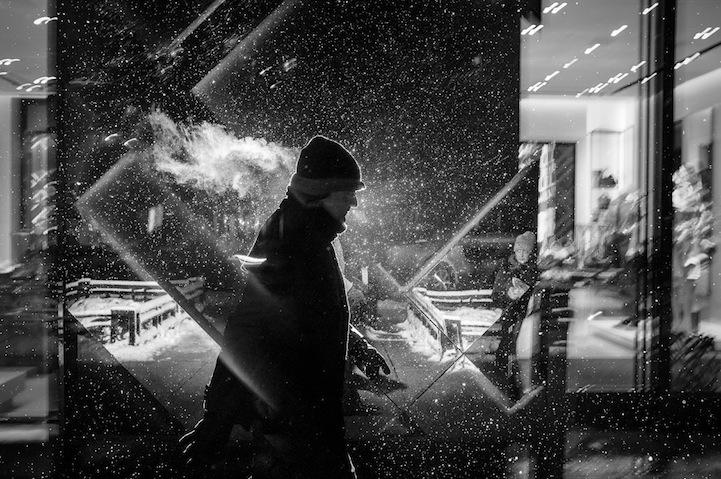 Силуэты лиц в фотографиях Satoki Nagata