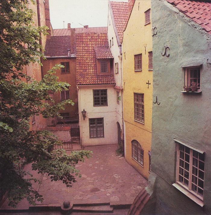 Фотографии Риги в 1980-е годы