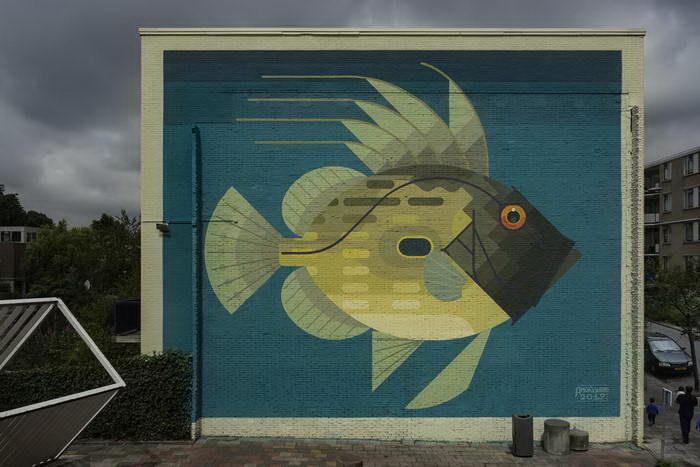 Природные граффити Amok Island