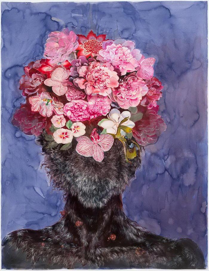 Абстрактные портреты Firelei Baez