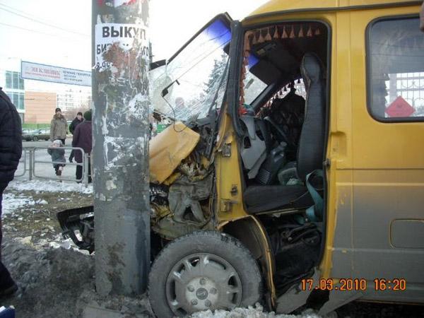 Суровая маршрутка в Челябинске