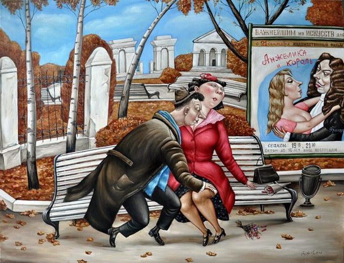 Ностальгия по СССР: картины Анжелы Джерих