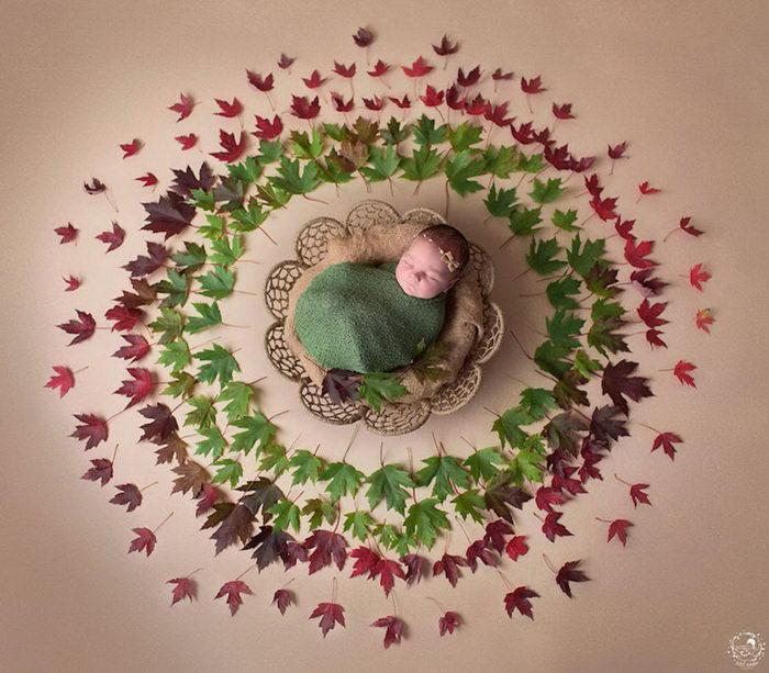 Малыши в мандалах: работы Gaba Svarbu