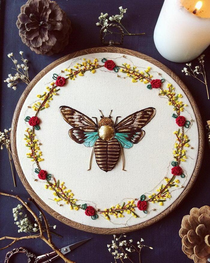 Невероятно красивые насекомые Humayrah Bint Altaf