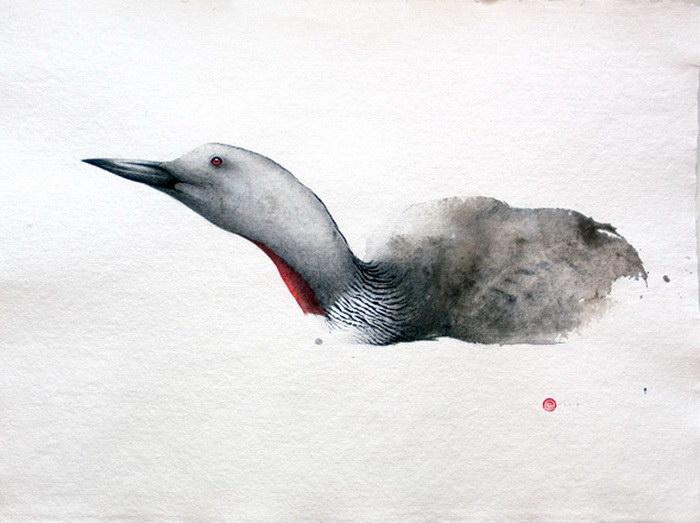 Каллиграфические акварели Karl Martens
