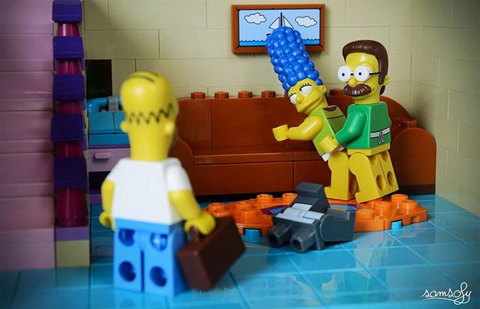 Повседневная жизнь в Lego