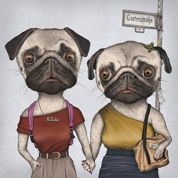Забавные иллюстрации Matthias Seifarth