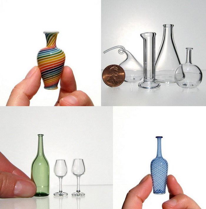 Миниатюрные стеклянные вазы Kiva Ford