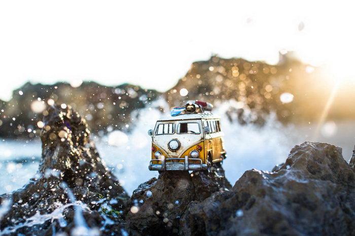 Машинки-путешественницы в фотографиях Kim Leuenberger