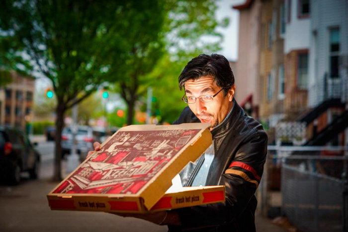 Радость от пиццы: фотопроект Chris Gampat