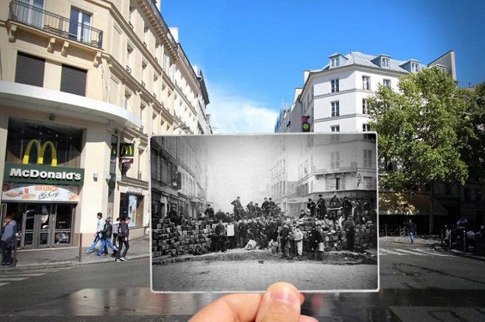 Старый Париж и современность: проект Julien Knez