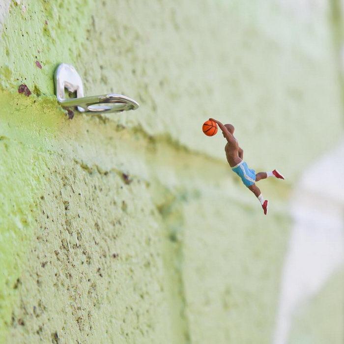 Миниатюрные инсталляции Slinkachu