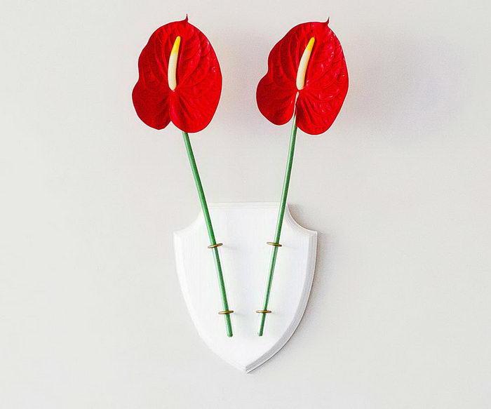 Ecodeer: экологичные вазы для цветов в форме оленьих рогов