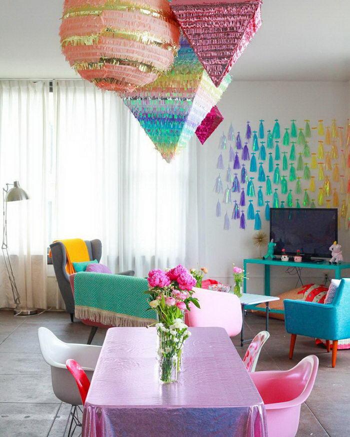 Яркая квартира дизайнера Amina Mucciolo