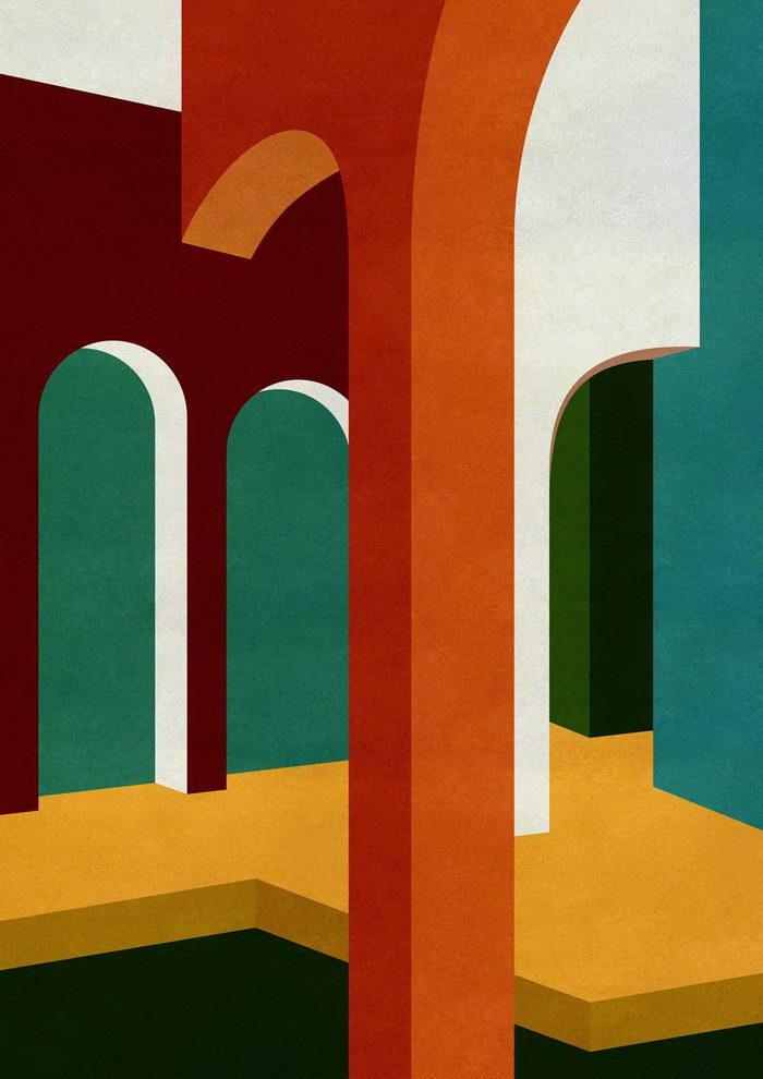 Архитектурные картины Charlotte Taylor
