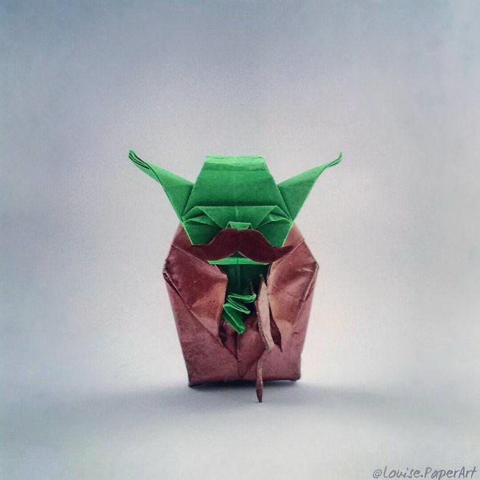 Офигенные оригами Louise Cassidy