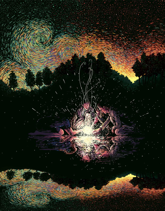 Цифровые иллюстрации James R. Eads