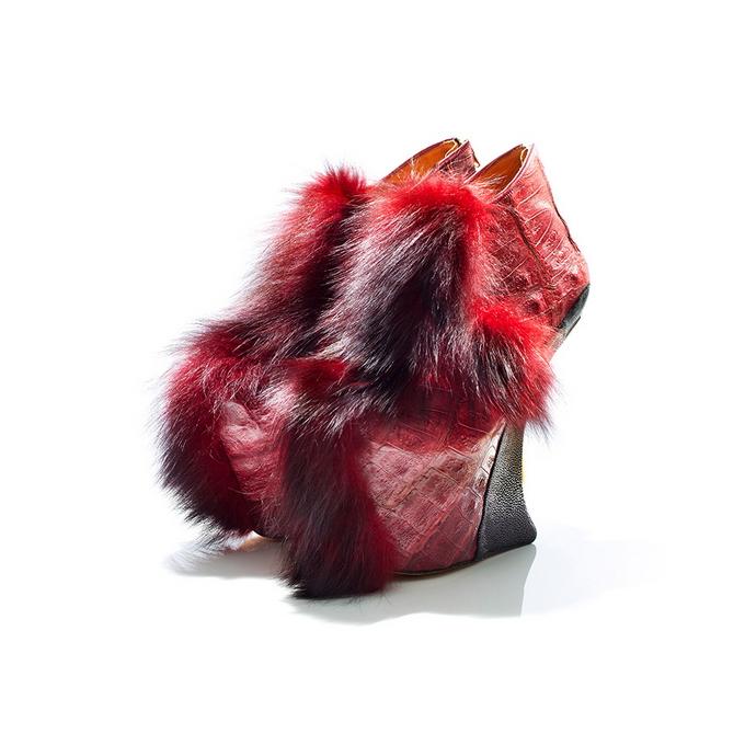 Необычная обувь Masaya Kushino