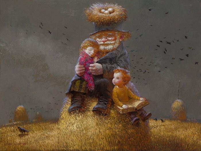 Cказочные иллюстрации Виктора Низовцева
