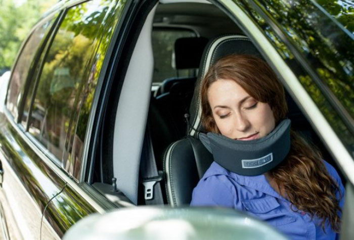 Держатель для головы во время сна в сидячем положении