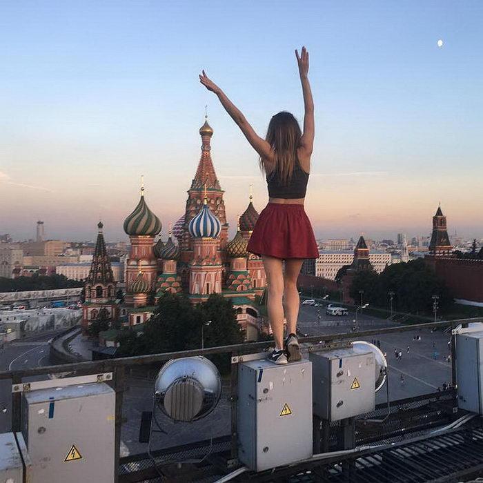 Angela Nikolau: девушка-руфер, покорившая мир