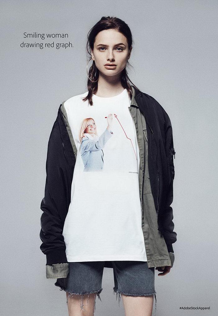 Коллекция одежды с принтами худших стоковых изображений