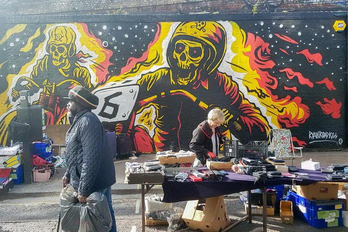Подборка граффити на улицах Лондона